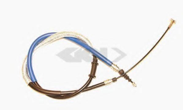 SPIDAN 41838 Трос, стояночная тормозная система