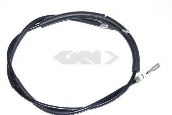 SPIDAN 43224 Трос, стояночная тормозная система