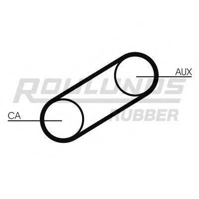 ROULUNDS RUBBER RR1368 Ремень ГРМ