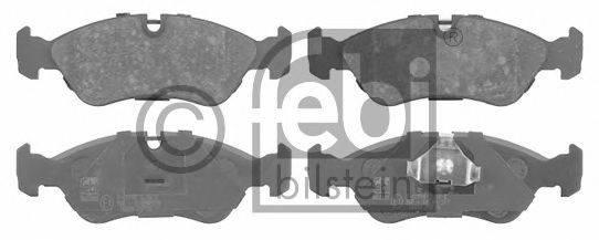 FEBI BILSTEIN 16030 Комплект тормозных колодок, дисковый тормоз