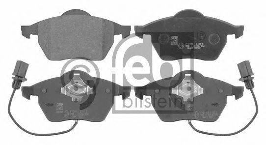 FEBI BILSTEIN 16447 Комплект тормозных колодок, дисковый тормоз