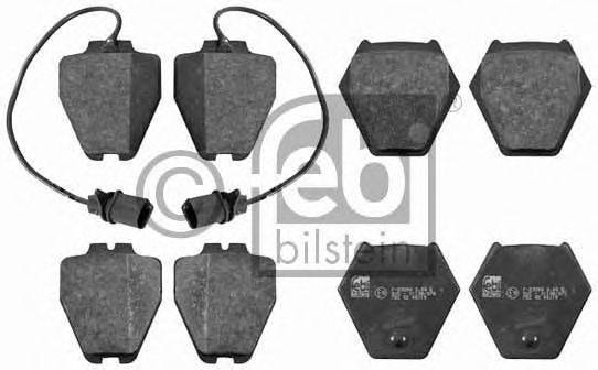 FEBI BILSTEIN 16456 Комплект тормозных колодок, дисковый тормоз
