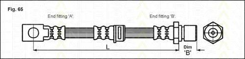 TRISCAN 815024116 Тормозной шланг