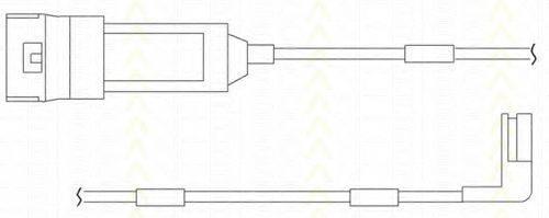 TRISCAN 811524004 Сигнализатор, износ тормозных колодок