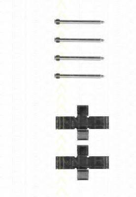 TRISCAN 8105101194 Комплектующие, колодки дискового тормоза