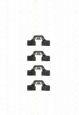 TRISCAN 8105101605 Комплектующие, колодки дискового тормоза