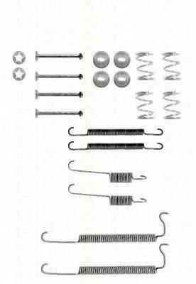 TRISCAN 8105242447 Комплектующие, тормозная колодка