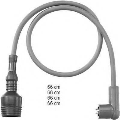 BERU ZEF804 Комплект проводов зажигания