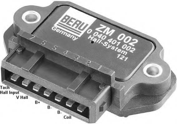 BERU ZM002 Коммутатор, система зажигания