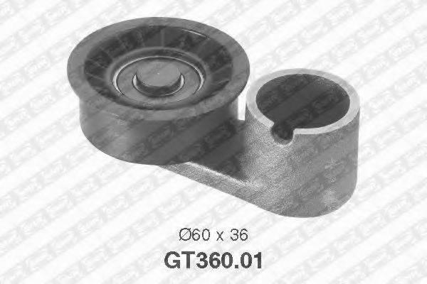 SNR GT36001 Натяжной ролик, ремень ГРМ