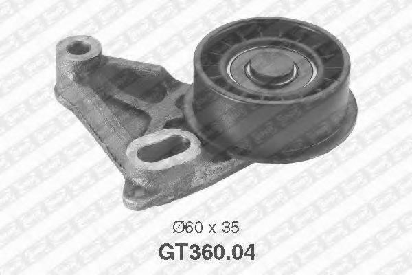 SNR GT36004 Натяжной ролик, ремень ГРМ