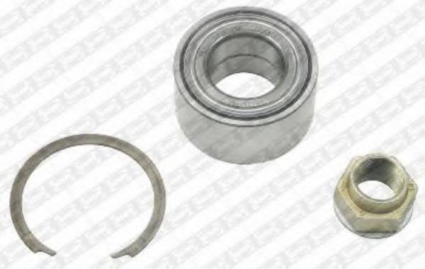 SNR R15836 Комплект подшипника ступицы колеса