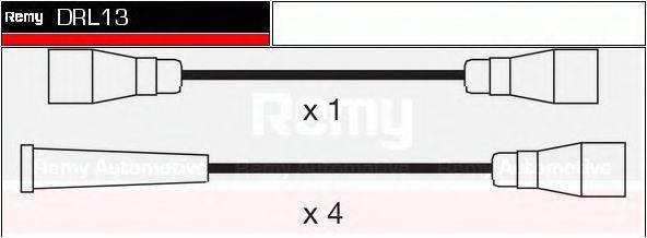 DELCO REMY DRL13 Комплект проводов зажигания