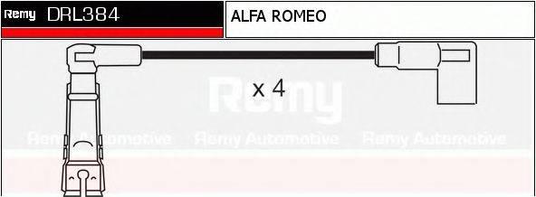 DELCO REMY DRL384 Комплект проводов зажигания