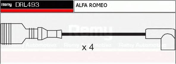 DELCO REMY DRL493 Комплект проводов зажигания