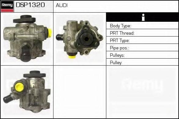 DELCO REMY DSP1320 Гидравлический насос, рулевое управление