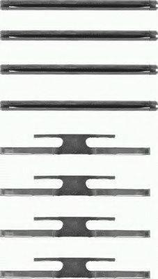 PAGID K0289 Комплектующие, колодки дискового тормоза