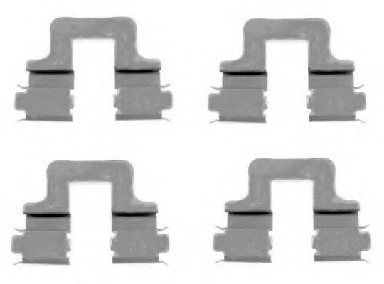 PAGID K0229 Комплектующие, колодки дискового тормоза