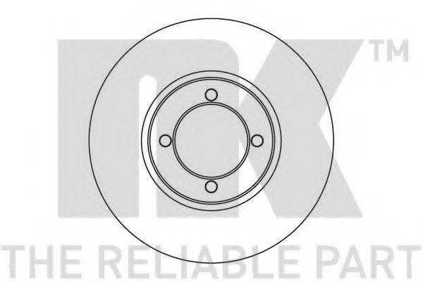 NK 209903 Тормозной диск