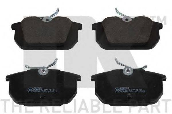 NK 222324 Комплект тормозных колодок, дисковый тормоз