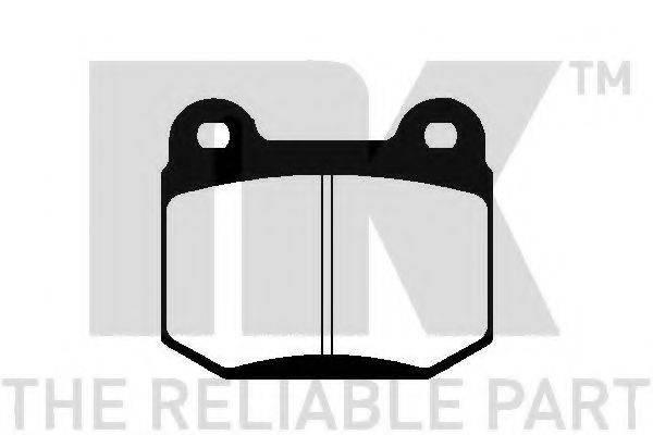 NK 229903 Комплект тормозных колодок, дисковый тормоз