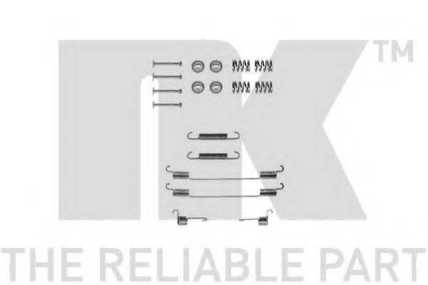 NK 7923682 Комплектующие, тормозная колодка