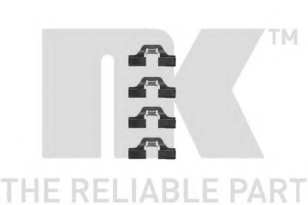 NK 7947211 Комплектующие, колодки дискового тормоза