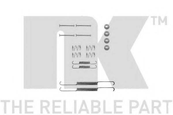 NK 7999507 Комплектующие, тормозная колодка