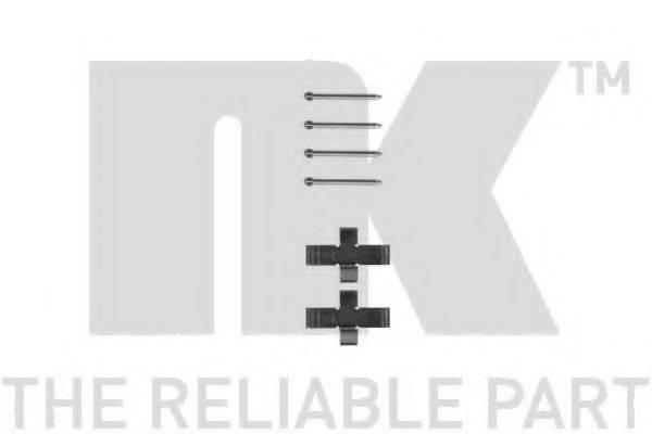 NK 7999916 Комплектующие, колодки дискового тормоза