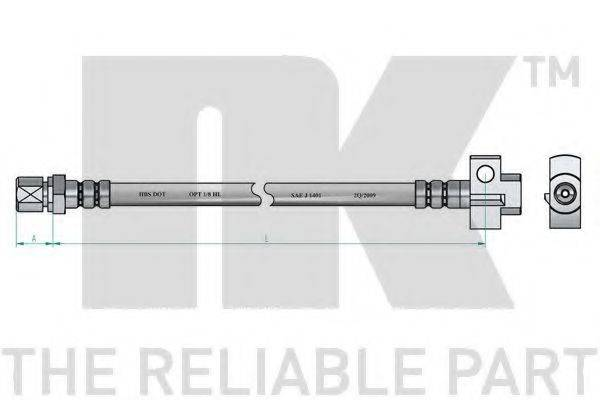 NK 853644 Тормозной шланг