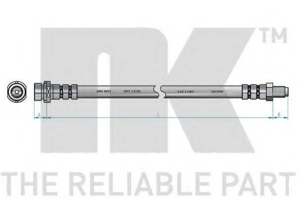 NK 854770 Тормозной шланг