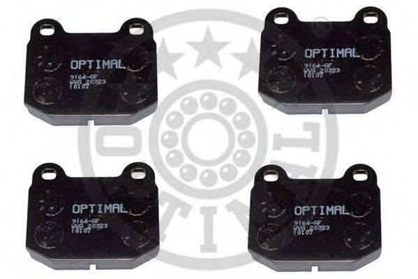 OPTIMAL 9164 Комплект тормозных колодок, дисковый тормоз