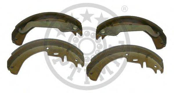 OPTIMAL BB0100 Комплект тормозных колодок