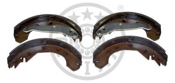 OPTIMAL BB0900 Комплект тормозных колодок
