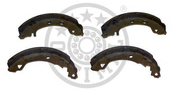 OPTIMAL BB1824 Комплект тормозных колодок