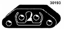 MAPCO 30193 Кронштейн, система выпуска ОГ