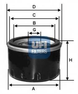 UFI 2310300 Масляный фильтр
