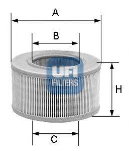 UFI 2785500 Воздушный фильтр