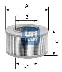 UFI 3080600 Воздушный фильтр