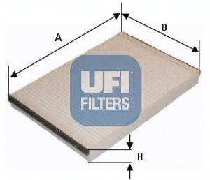 UFI 5304700 Фильтр, воздух во внутренном пространстве