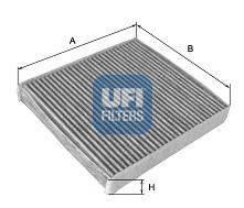 UFI 5414300 Фильтр, воздух во внутренном пространстве