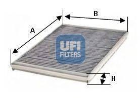UFI 5423000 Фильтр, воздух во внутренном пространстве