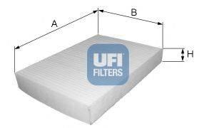 UFI 5303000 Фильтр, воздух во внутренном пространстве