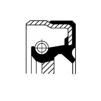 CORTECO 20011244B Уплотняющее кольцо, распределительный вал
