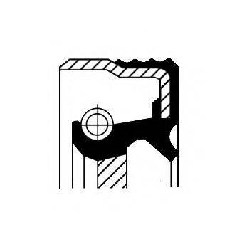 CORTECO 12014690B Уплотняющее кольцо, коленчатый вал
