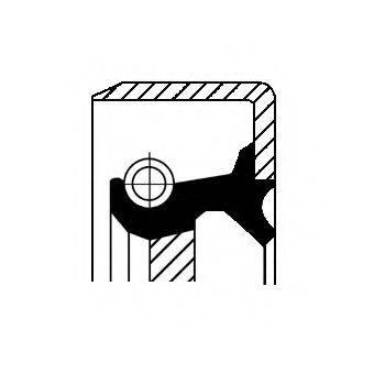 CORTECO 12017271B Уплотняющее кольцо, ступенчатая коробка передач