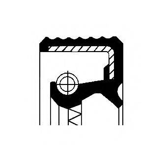 CORTECO 01035161B Уплотняющее кольцо, дифференциал