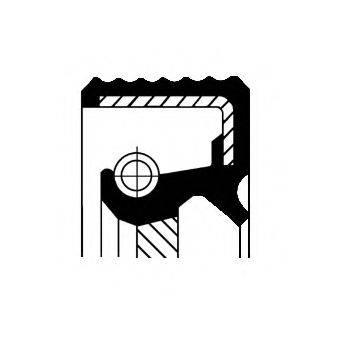 CORTECO 12015424B Уплотняющее кольцо, коленчатый вал