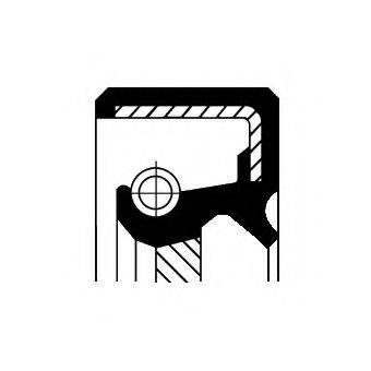 CORTECO 12010749B Уплотняющее кольцо, коленчатый вал