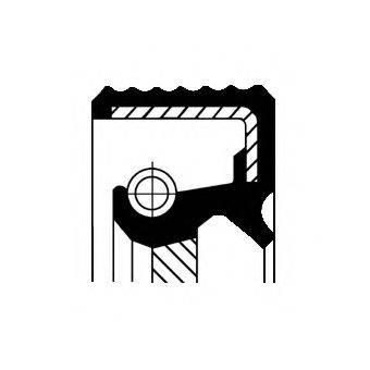 CORTECO 01036270B Уплотняющее кольцо, дифференциал
